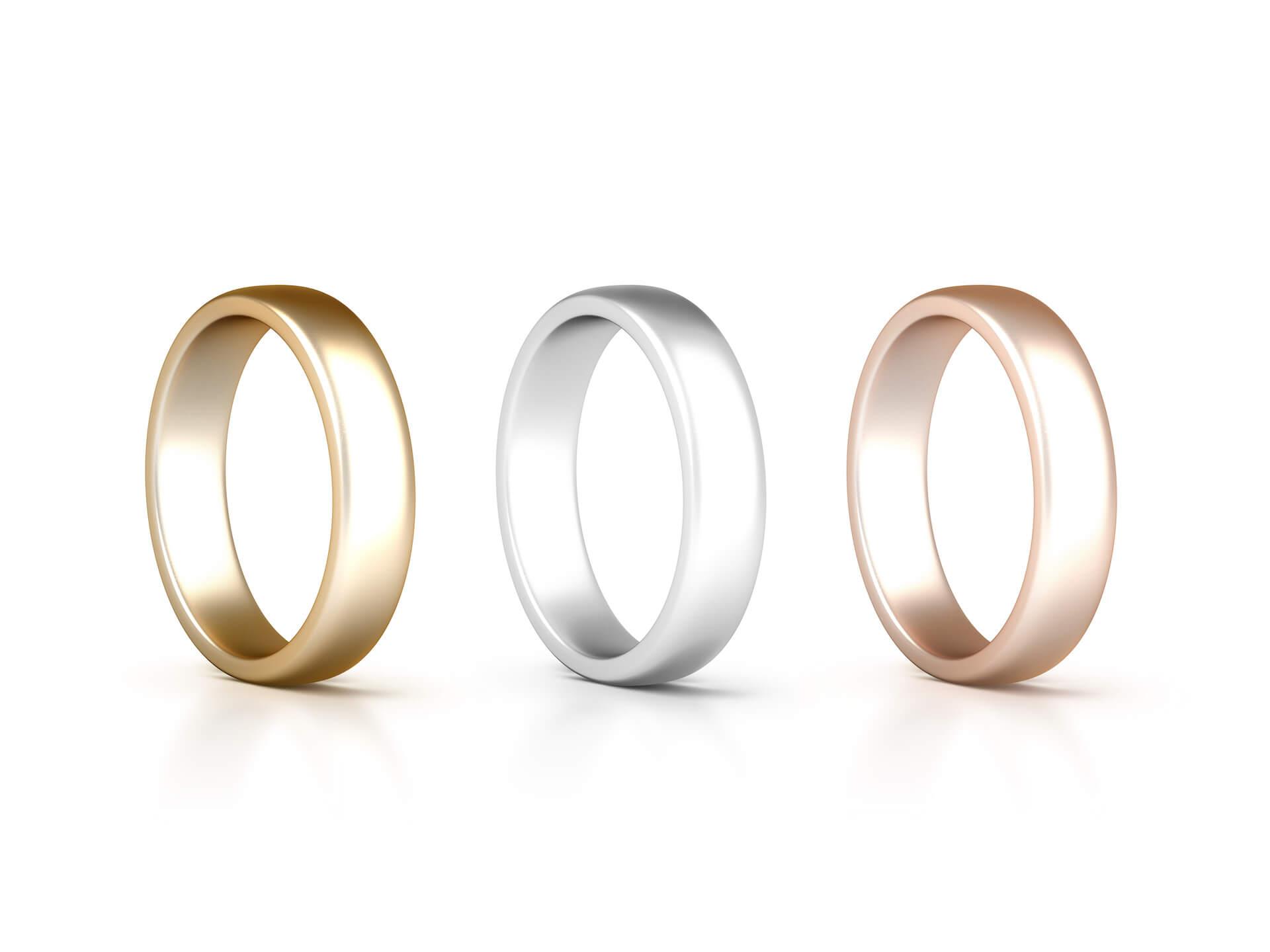 Trauringe Eheringe Verlobungsringe gold silber rosegold